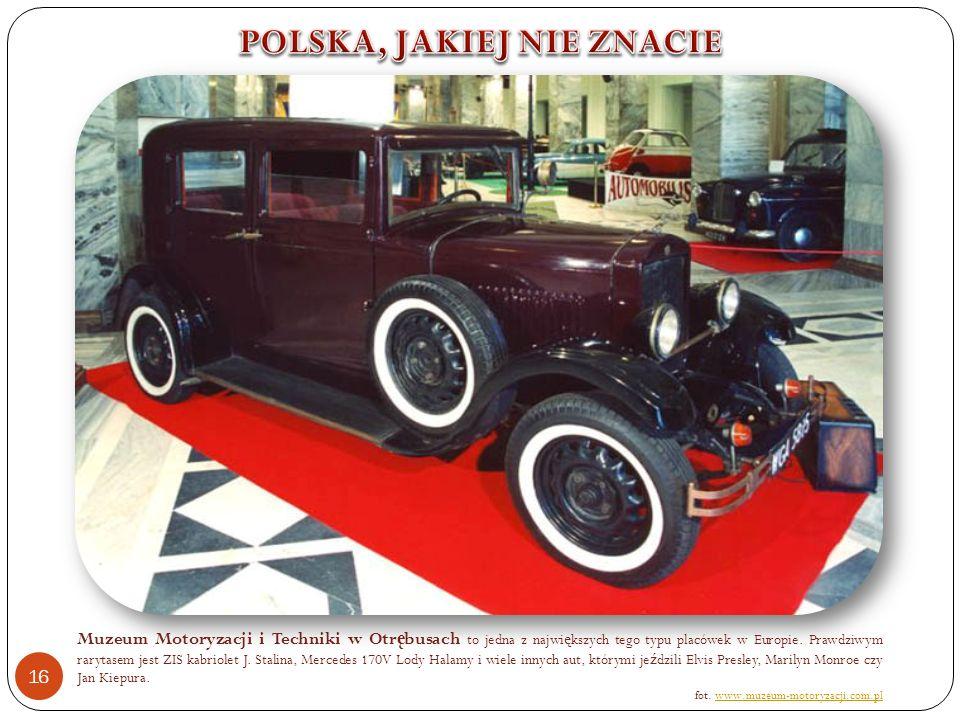 Muzeum Motoryzacji i Techniki w Otr ę busach to jedna z najwi ę kszych tego typu placówek w Europie.