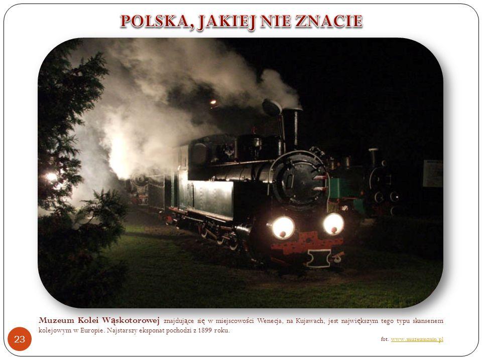 Muzeum Kolei W ą skotorowej znajduj ą ce si ę w miejscowo ś ci Wenecja, na Kujawach, jest najwi ę kszym tego typu skansenem kolejowym w Europie.