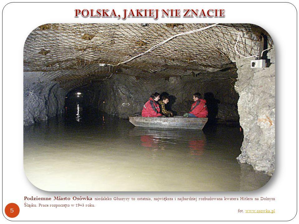 Podziemne Miasto Osówka niedaleko Głuszycy to ostatnia, najwi ę ksza i najbardziej rozbudowana kwatera Hitlera na Dolnym Ś l ą sku.