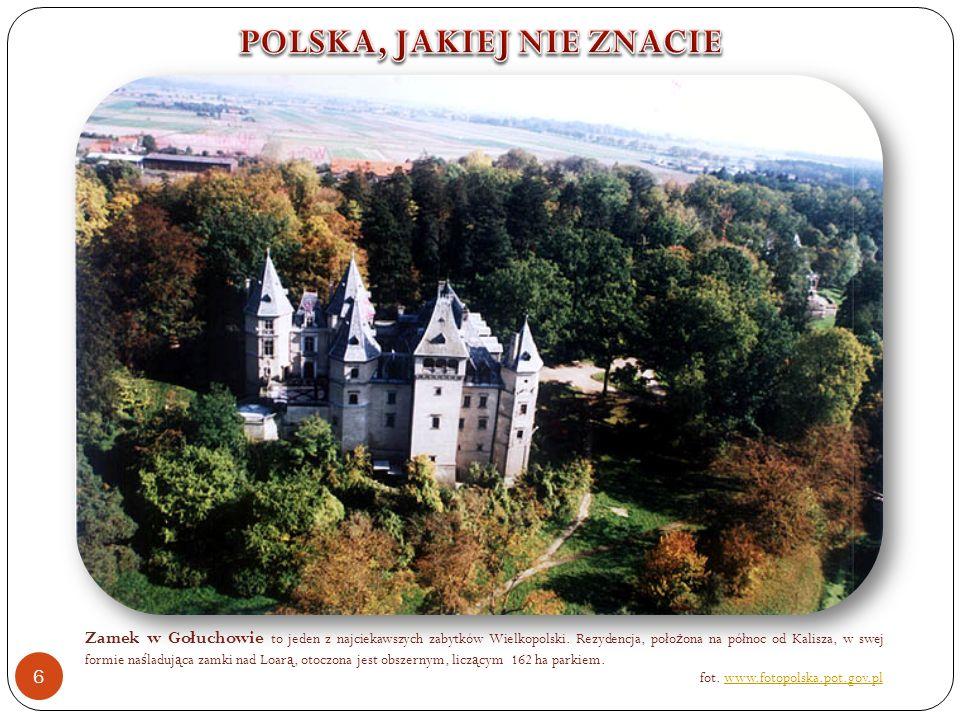 Zamek w Gołuchowie to jeden z najciekawszych zabytków Wielkopolski.