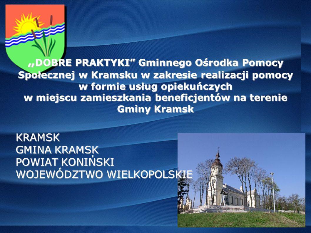 Gmina Kramsk zajmuje powierzchni ę 132,33 km 2.