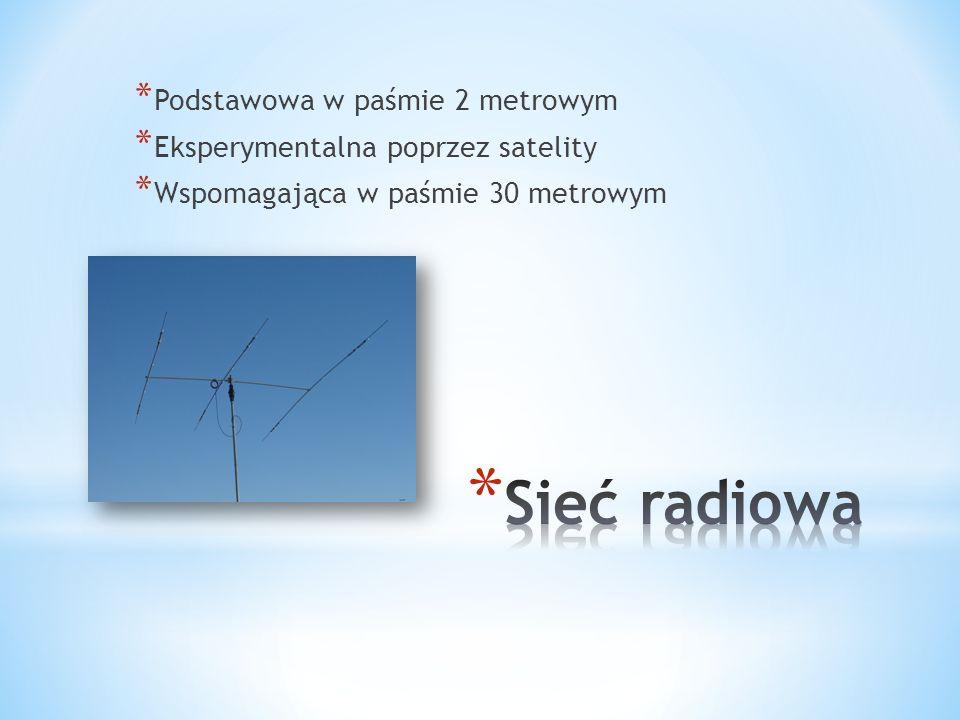 * Eksperymentalna poprzez satelity
