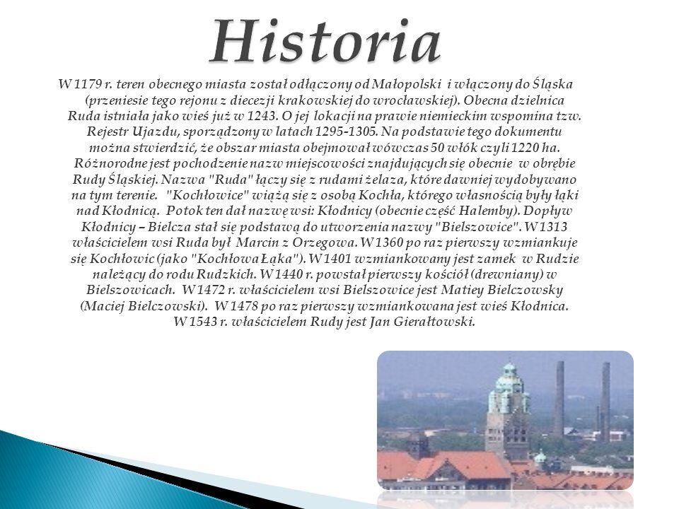 W 1179 r. teren obecnego miasta został odłączony od Małopolski i włączony do Śląska (przeniesie tego rejonu z diecezji krakowskiej do wrocławskiej). O