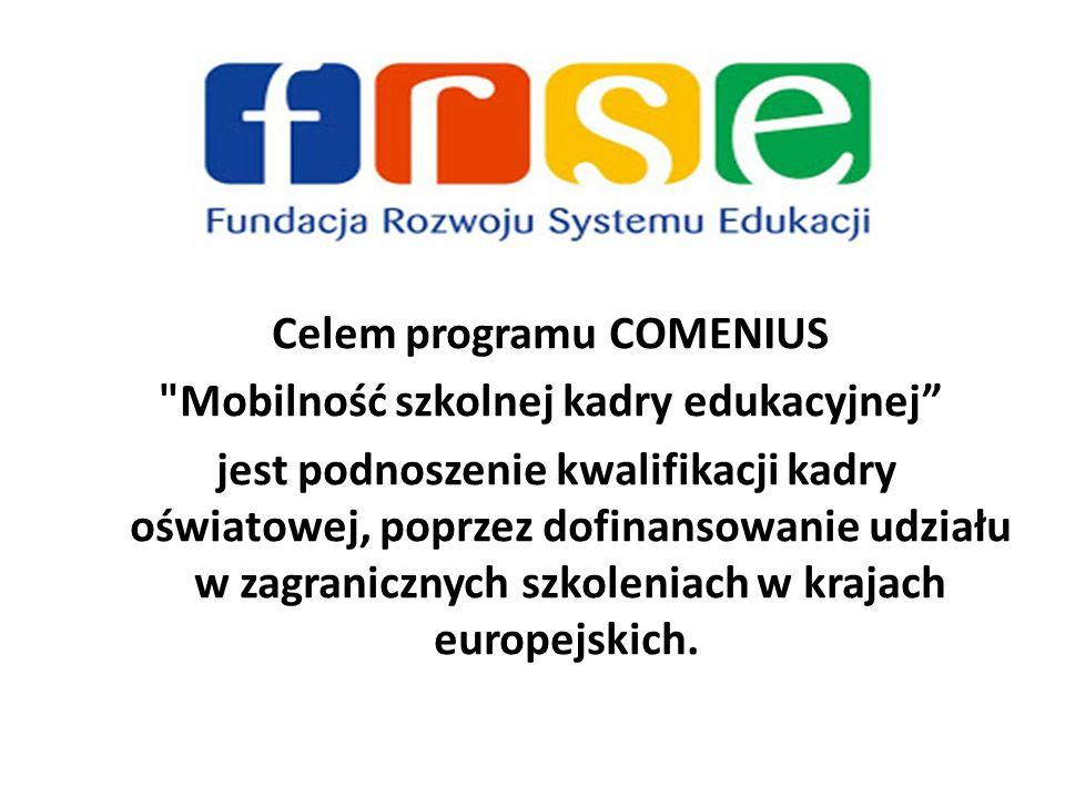 Celem programu COMENIUS