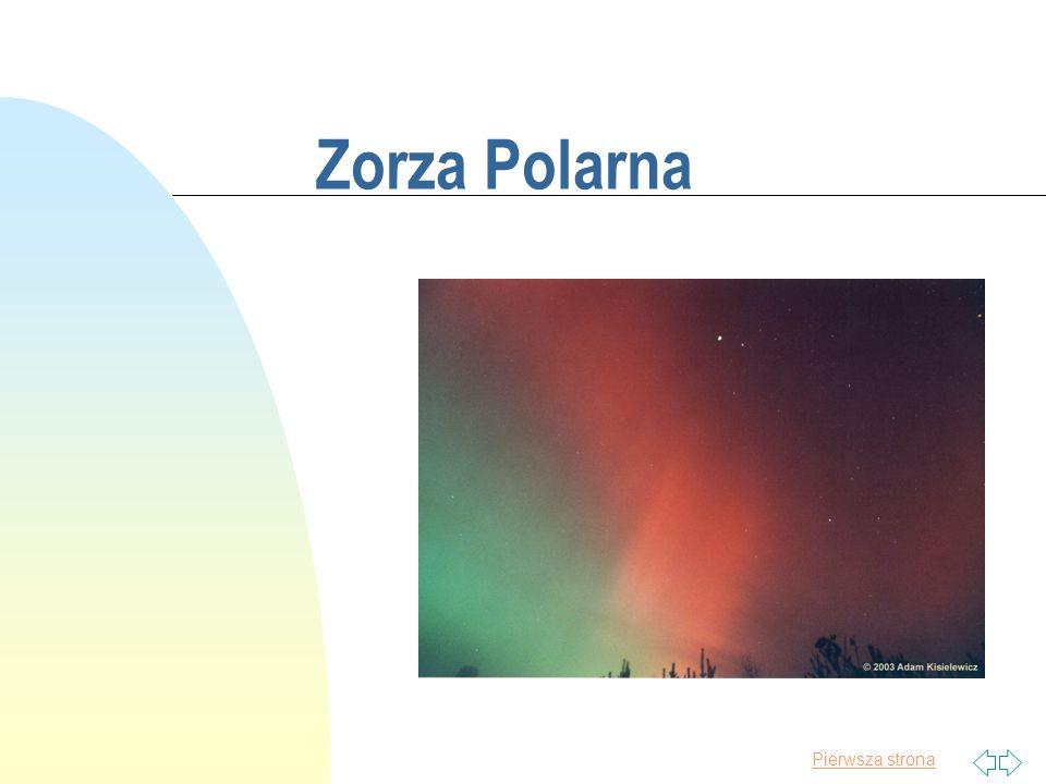 Pierwsza strona Zorza Polarna