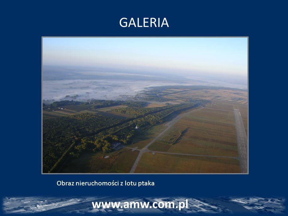 GALERIA www.amw.com.pl Obraz nieruchomości z lotu ptaka