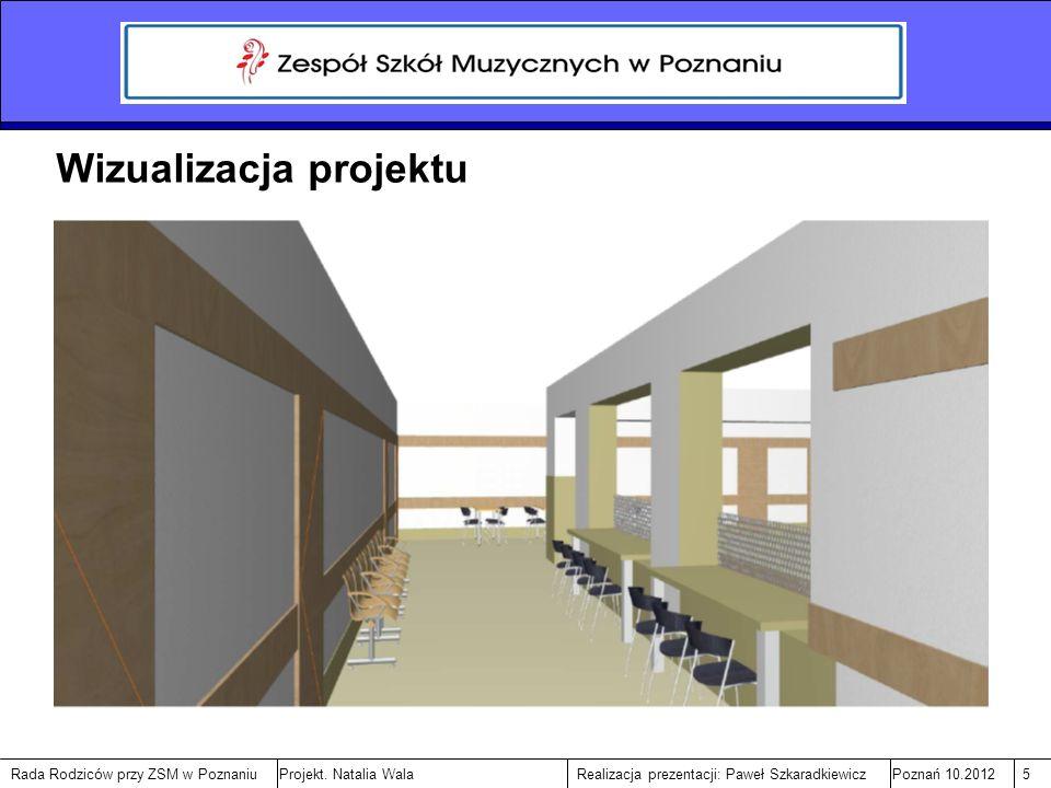 Rada Rodziców przy ZSM w PoznaniuPoznań 10.20125Realizacja prezentacji: Paweł SzkaradkiewiczProjekt.