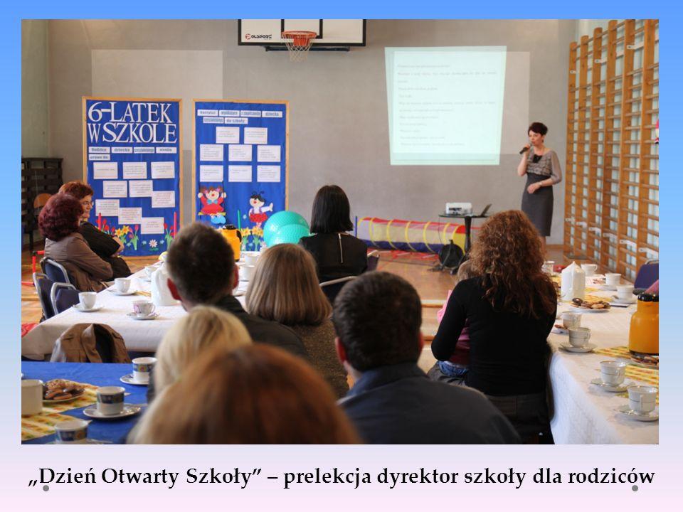 Dzień Otwarty Szkoły – prelekcja dyrektor szkoły dla rodziców