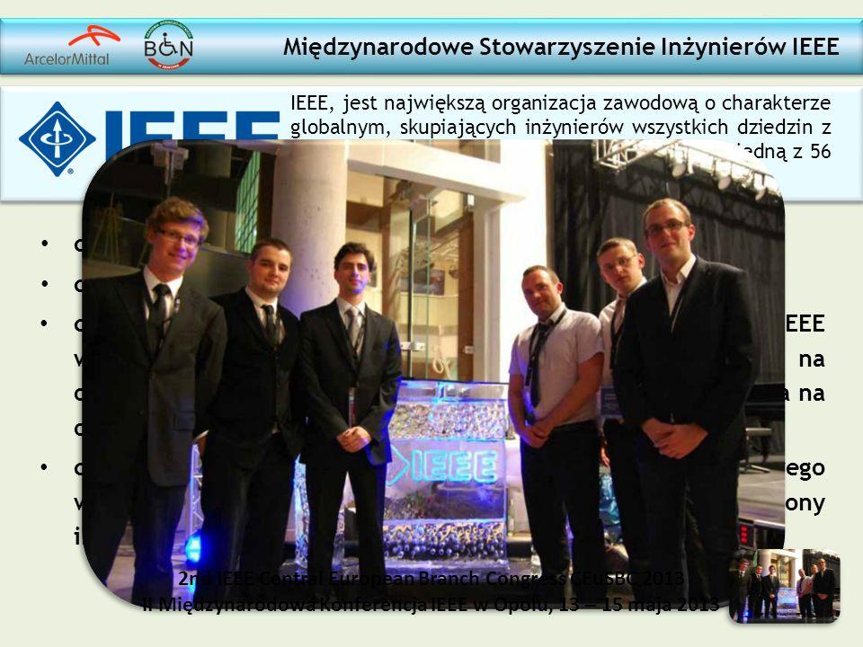Międzynarodowe Stowarzyszenie Inżynierów IEEE członek Sekcji IEEE działającej na AGH w Krakowie członek delegacji na Międzynarodowej Konferencji w Opo