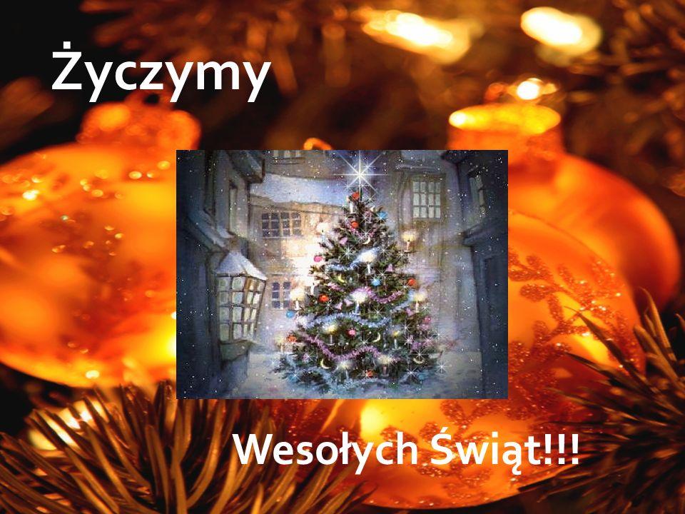 Życzymy Wesołych Świąt!!!