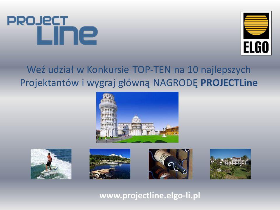 Zarejestruj się już dziś www.projectline.elgo-li.pl