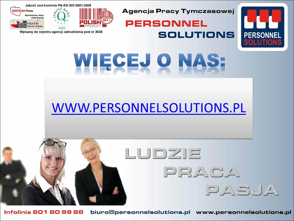 WWW.PERSONNELSOLUTIONS.PL