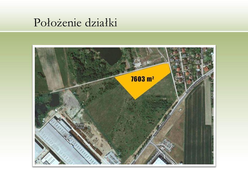 Korzyści Dojazd DK-88, wewnętrzna droga utwardzona dla samochodów, rozbudowana sieć komunikacji publicznej sąsiedztwo firm produkcyjnych i usługowych zlokalizowanych w Katowickiej Specjalnej Strefie Ekomomicznej, podstrefa Gliwice dogodny miejscowy plan zagospodarowania przestrzennego, z dostępem do niezbędnego uzbrojenia.