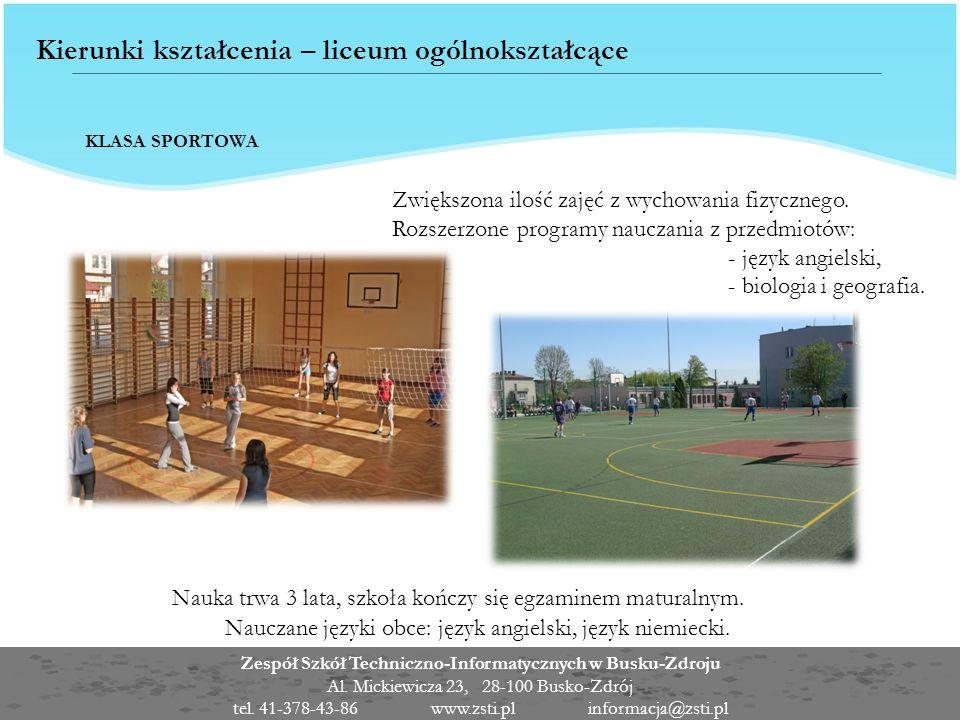 Zespół Szkół Techniczno-Informatycznych w Busku-Zdroju Al.