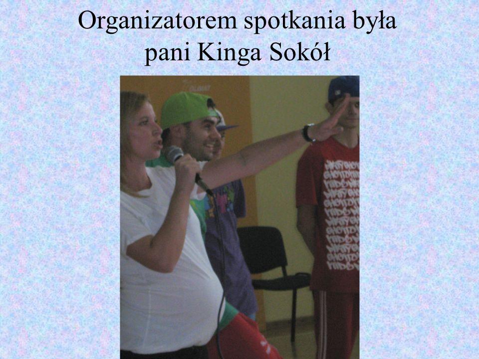 Organizatorem spotkania była pani Kinga Sokół