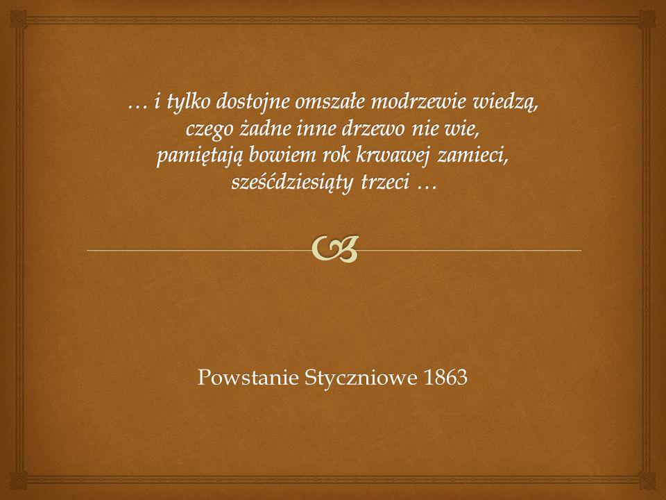 Michał Ciundziewicki - chorąży rozstrzelany w Mińsku 21.05.1863 r., za nie w swoim czasie stawienie się na służbę, namowę włościan do powstania i sfotografowanie się, siedzącym na krześle z wyobrażeniem korony, a pod nim herbem połączenia Litwy i Polski.