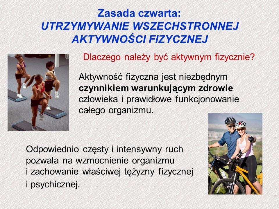 Zasada piąta: PRAWIDŁOWE ODŻYWIANIE SIĘ PIRAMIDA ZDROWEGO ŻYWIENIA Zalecenia Polskiego Towarzystwa Kardiologicznego i Polskiego Naukowego Towarzystwa Otyłości i Przemiany Materii wg.