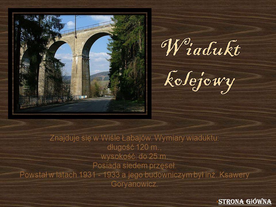 Znajduje się w Wiśle Łabajów. Wymiary wiaduktu: długość 120 m., wysokość: do 25 m. Posiada siedem przęseł. Powstał w latach 1931 - 1933 a jego budowni