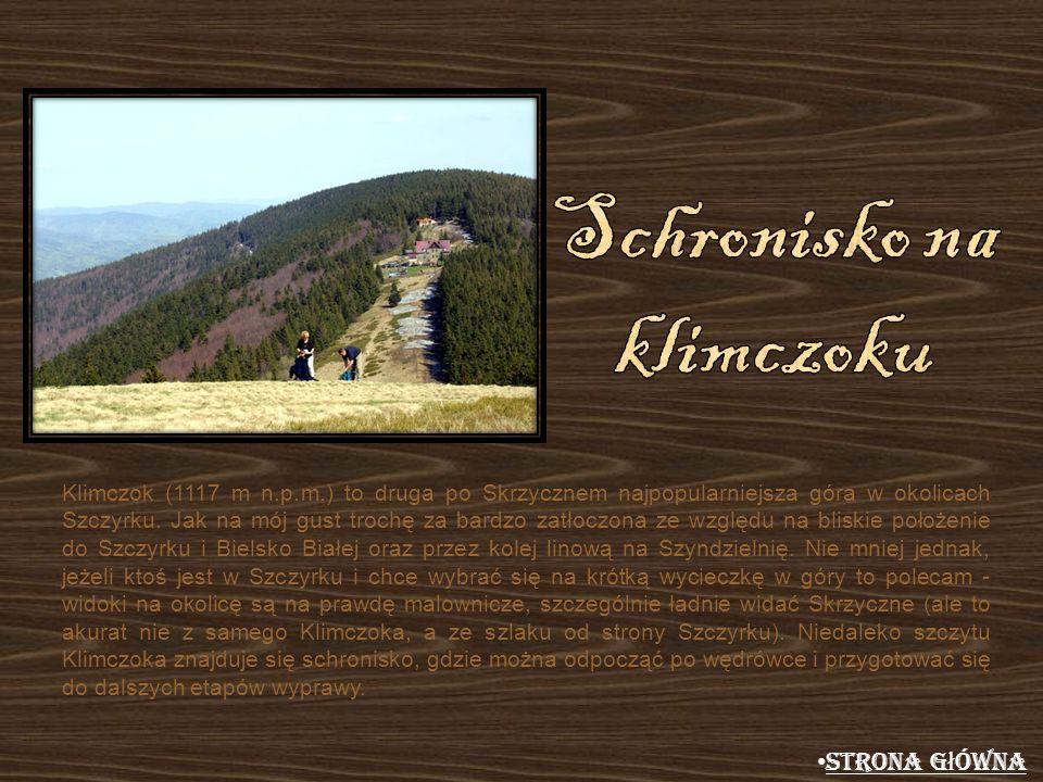 Klimczok (1117 m n.p.m.) to druga po Skrzycznem najpopularniejsza góra w okolicach Szczyrku. Jak na mój gust trochę za bardzo zatłoczona ze względu na