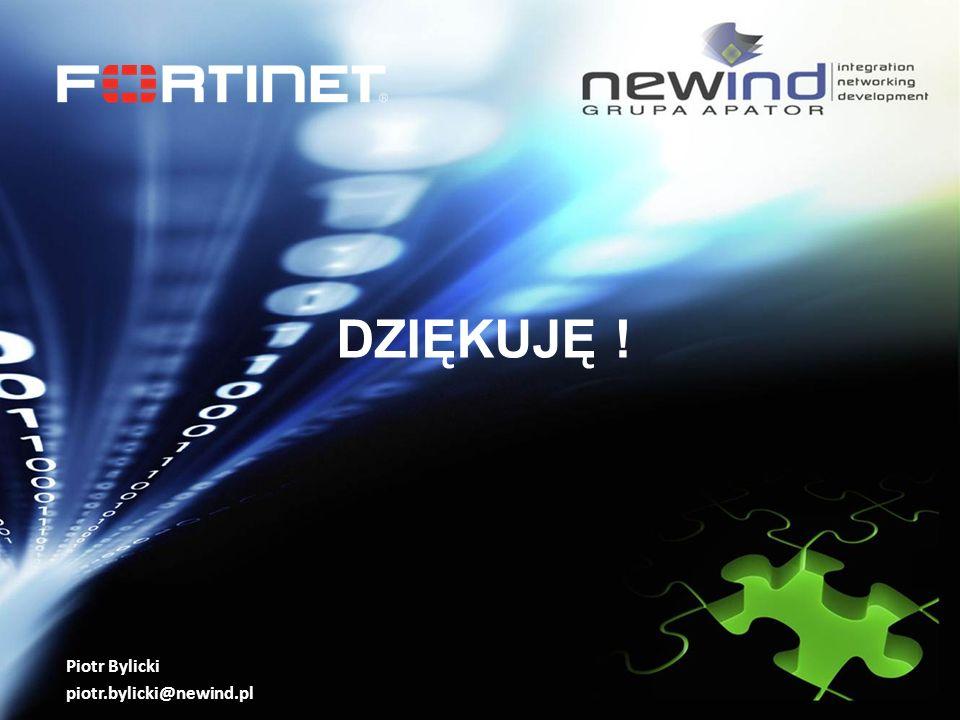 DZIĘKUJĘ ! Piotr Bylicki piotr.bylicki@newind.pl