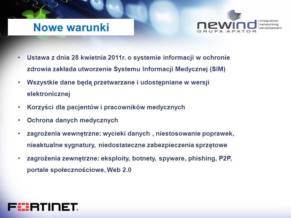 Ustawa z dnia 28 kwietnia 2011r. o systemie informacji w ochronie zdrowia zakłada utworzenie Systemu Informacji Medycznej (SIM) Wszystkie dane będą pr