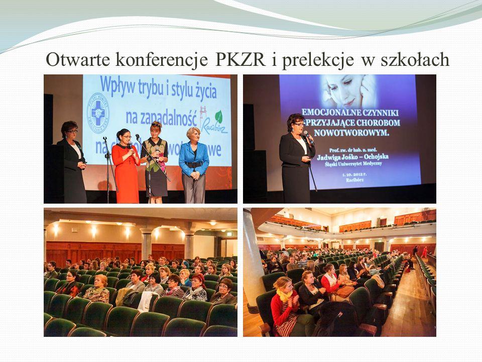 Otwarte konferencje PKZR i prelekcje w szkołach
