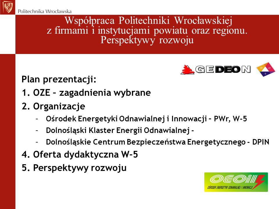 Współpraca Politechniki Wrocławskiej z firmami i instytucjami powiatu oraz regionu.
