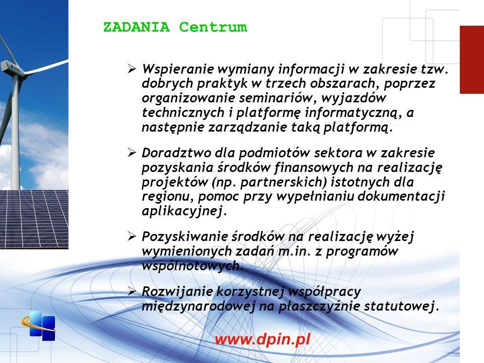 ZADANIA Centrum Wspieranie wymiany informacji w zakresie tzw.