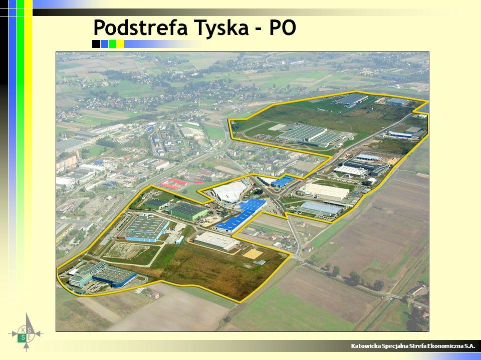 Podstrefa Tyska - PO Katowicka Specjalna Strefa Ekonomiczna S.A.