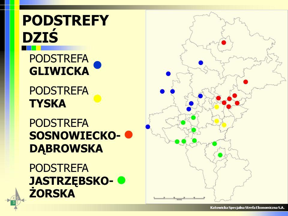 Oddziaływanie KSSE Katowicka Specjalna Strefa Ekonomiczna S.A.