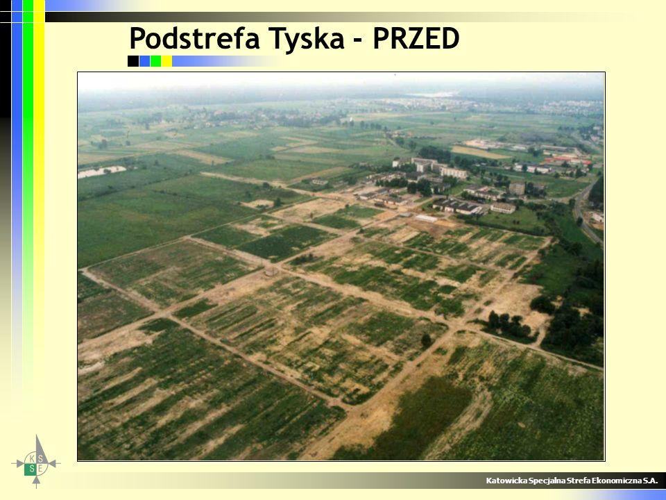 Regionalne Parki KSSE Stworzenie trzech nowych Regionalnych Parków KSSE w Tucznawie, Ujeździe i Zabrzu Łączny obszar terenów to ponad 300 hektarów Potencjał terenów: –4000 nowych miejsc pracy –1,5 - 4 miliardów złotych inwestycji Katowicka Specjalna Strefa Ekonomiczna S.A.