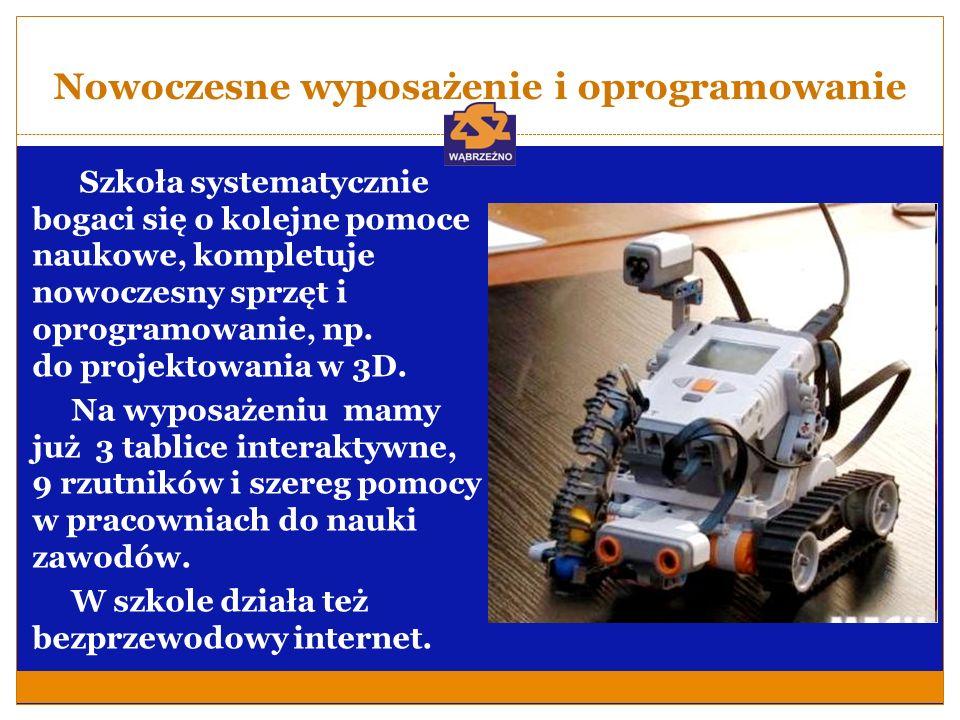 Technik mechatronik Wymagania wobec kandydata: Zainteresowania: techniczne, elektroniczne, informatyczne, nauki ścisłe.