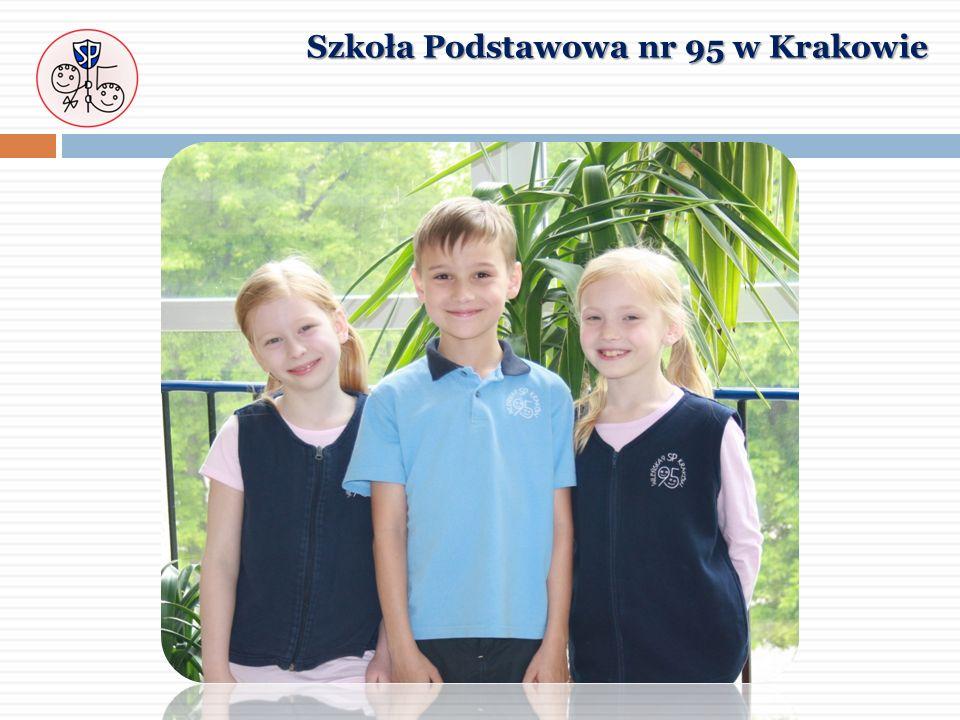 WYPRAWKA UCZNIA KLASY 1 jednolity strój szkolny Szkoła Podstawowa nr 95 w Krakowie