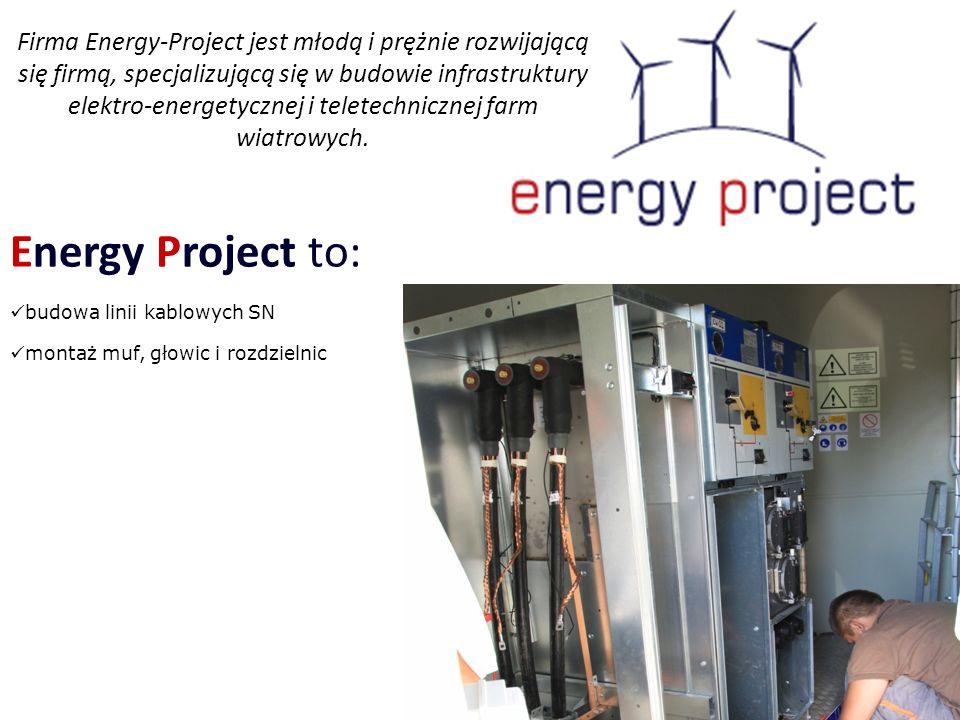 Firma Energy-Project jest młodą i prężnie rozwijającą się firmą, specjalizującą się w budowie infrastruktury elektro-energetycznej i teletechnicznej farm wiatrowych.
