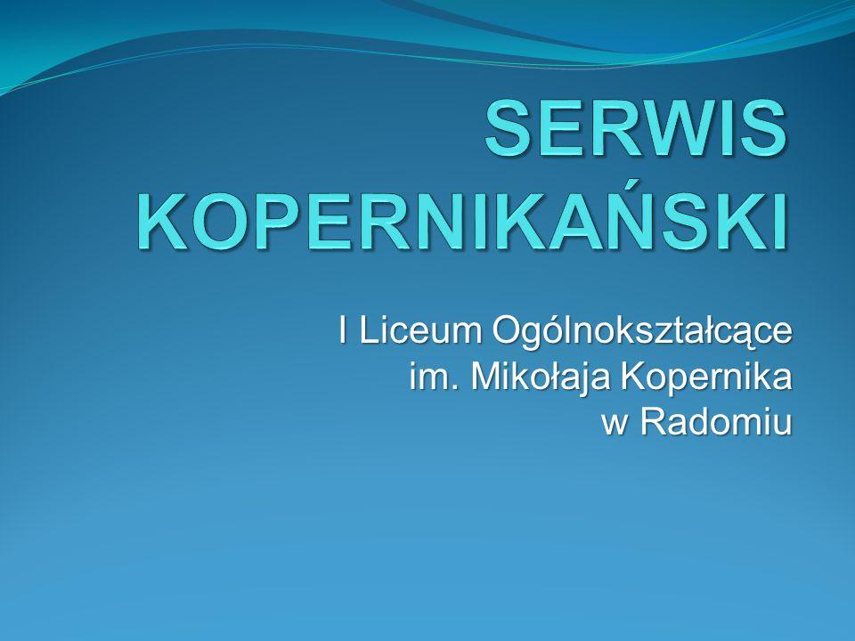 I Liceum Ogólnokształcące im. Mikołaja Kopernika w Radomiu