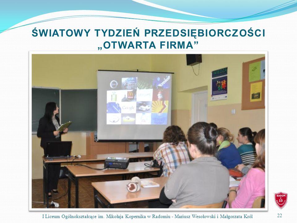 22 I Liceum Ogólnokształcące im.