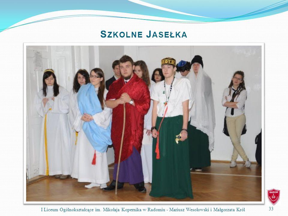 33 I Liceum Ogólnokształcące im.