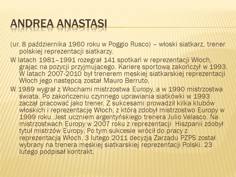 (ur. 8 października 1960 roku w Poggio Rusco) – włoski siatkarz, trener polskiej reprezentacji siatkarzy. W latach 1981–1991 rozegrał 141 spotkań w re