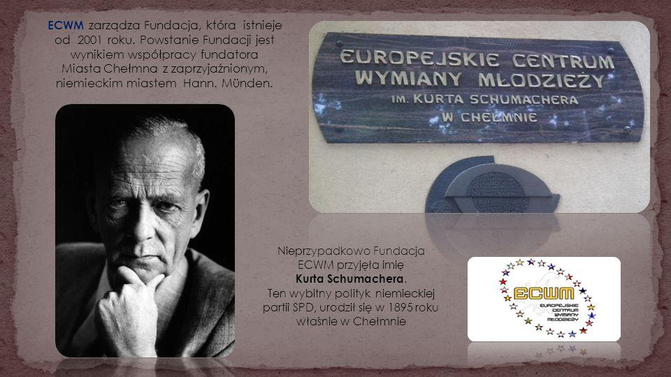 ECWM zarządza Fundacja, która istnieje od 2001 roku. Powstanie Fundacji jest wynikiem współpracy fundatora Miasta Chełmna z zaprzyjaźnionym, niemiecki