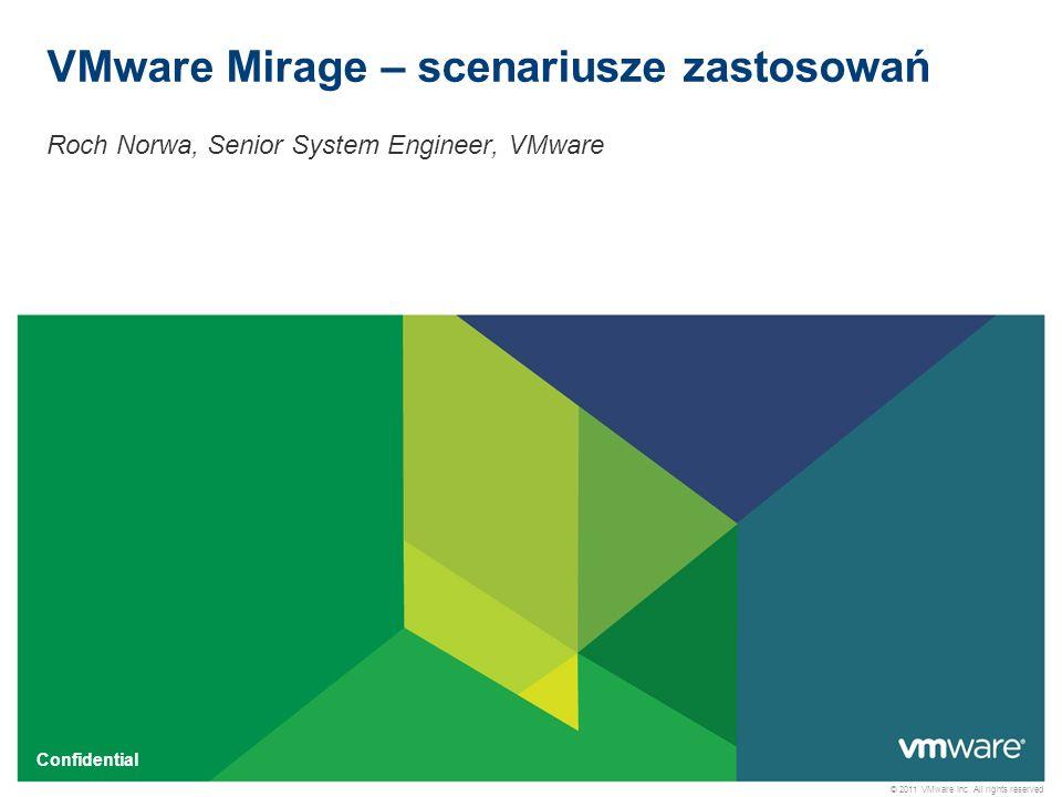 2 Confidential Centralne zarządzanie – lokalne uruchamianie Scentralizowane obrazy Zoptymalizowane synchronizowanie i przesyłanie danych Obraz podstawowy Desktopy i Laptopy z klientem Mirage Lokalne kopie Jak możemy wykorzystać Mirage.