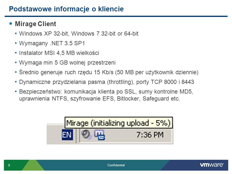 40 Confidential Windows XP -> 7 Migracja (kont.) Co się stanie później .