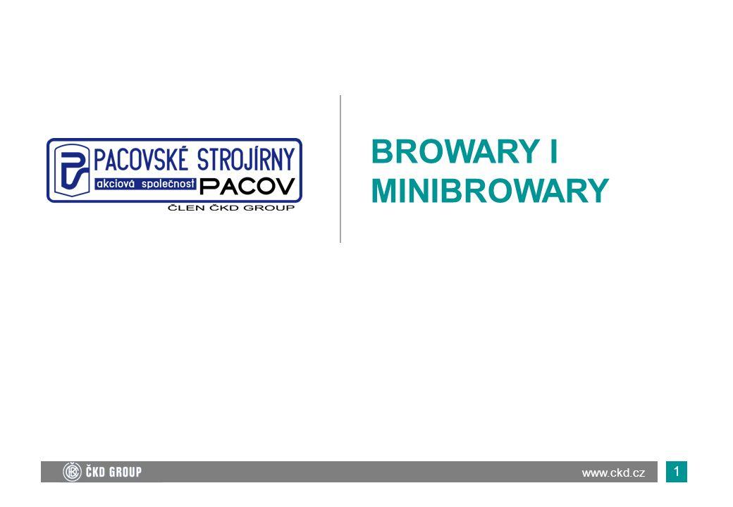 2 O FIRMIE o Pacovské strojírny są najważniejszym zakładem przemysłowym w rejonie miasta Pacowa, leżącego na wyżynie czeskomorawskiej.