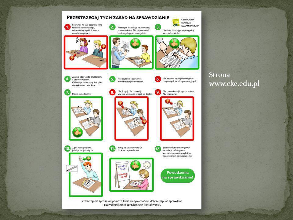 Strona www.cke.edu.pl