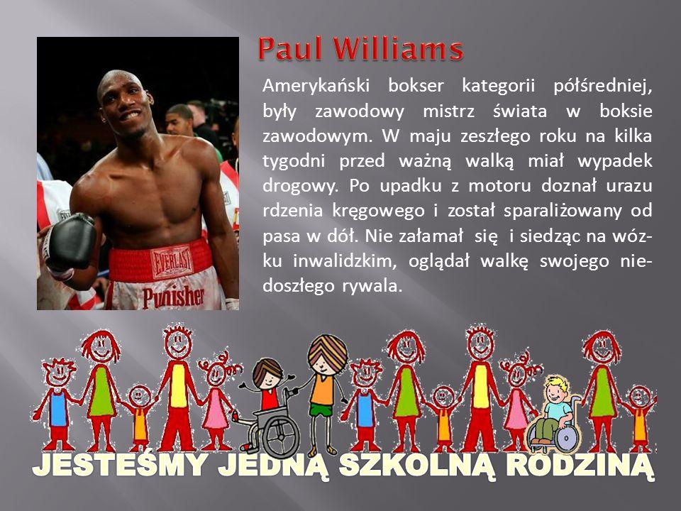 Amerykański bokser kategorii półśredniej, były zawodowy mistrz świata w boksie zawodowym.