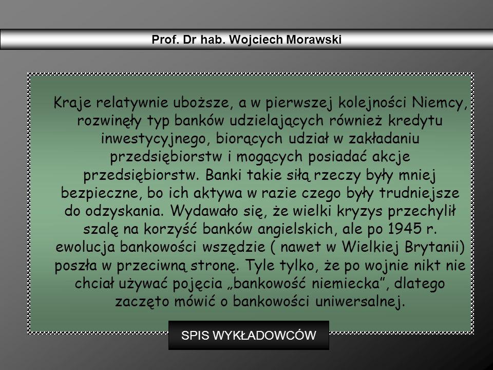 Działa w Polsce ponad 70 banków komercyjnych, w tym ponad 60 z przewagą kapitału zagranicznego.