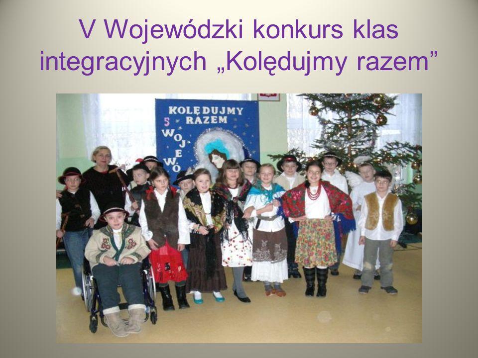 V Wojewódzki konkurs klas integracyjnych Kolędujmy razem
