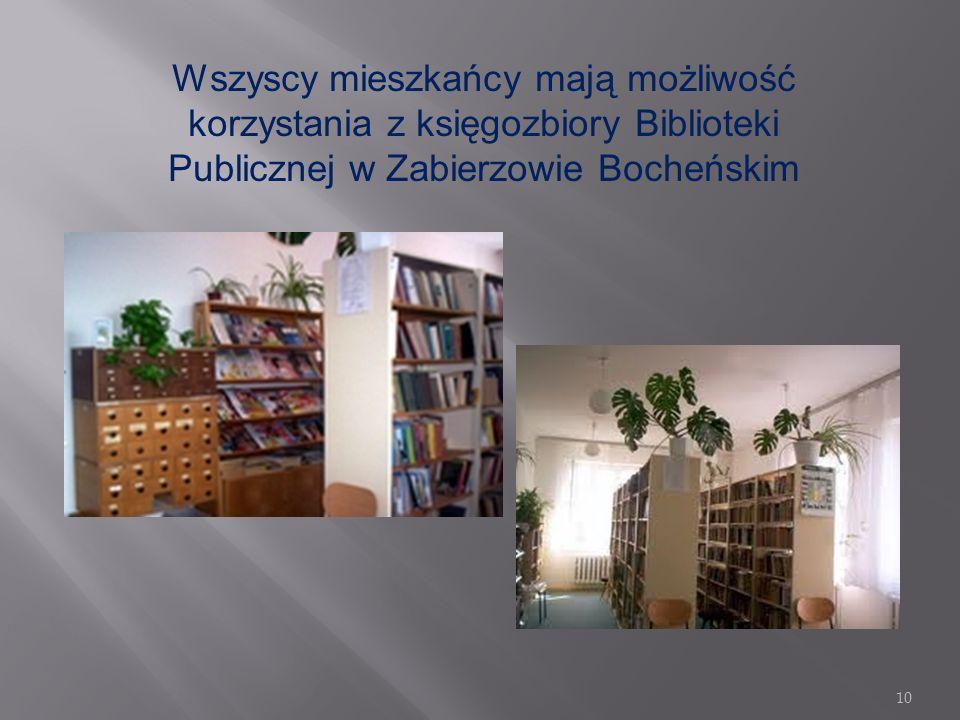 9 IZBA REGIONALNA Prywatna Izba Regionalna w Zabierzowie Bocheńskim gromadzi wiele ciekawych eksponatów, przewyższa niejedno państwowe tego typu muzeu