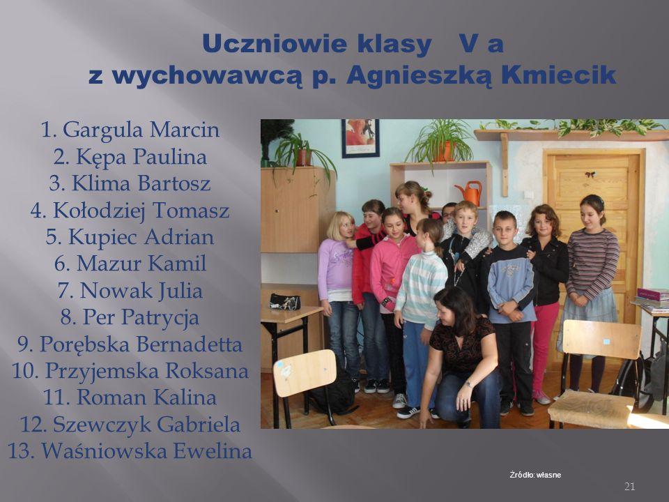 20 Żródło: Wikipedia W marcu 2010 roku zmieniona została nazwa szkoły na Zespół Szkół z Oddziałami Integracyjnymi w Zabierzowie Bocheńskim Szkoła Pods