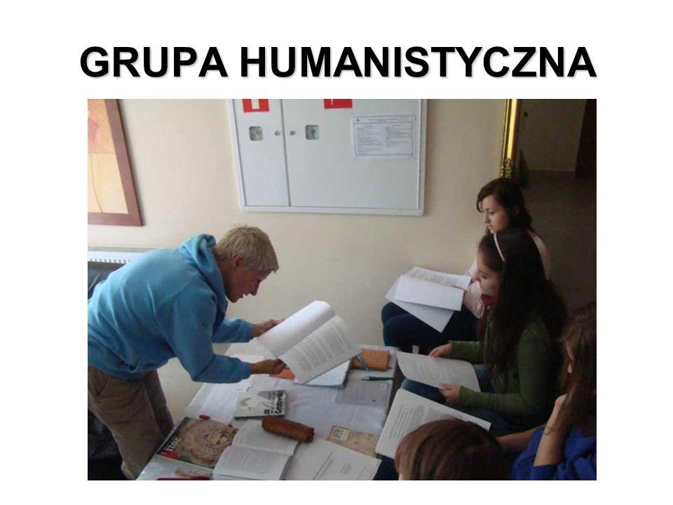 GRUPA HUMANISTYCZNA