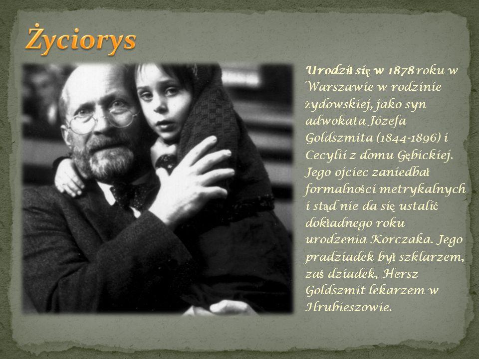 Urodzi ł si ę w 1878 roku w Warszawie w rodzinie ż ydowskiej, jako syn adwokata Józefa Goldszmita (1844-1896) i Cecylii z domu G ę bickiej. Jego ojcie